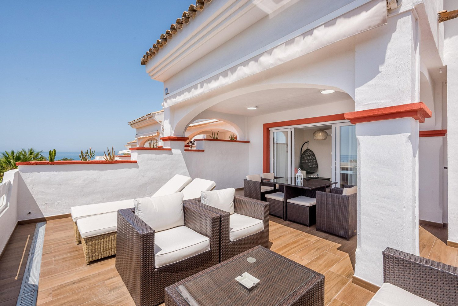 Lux.Beachside Penthouse – Stunning Sea Views in Marbella